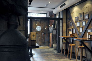 Entrada Restaurante Ciudadela