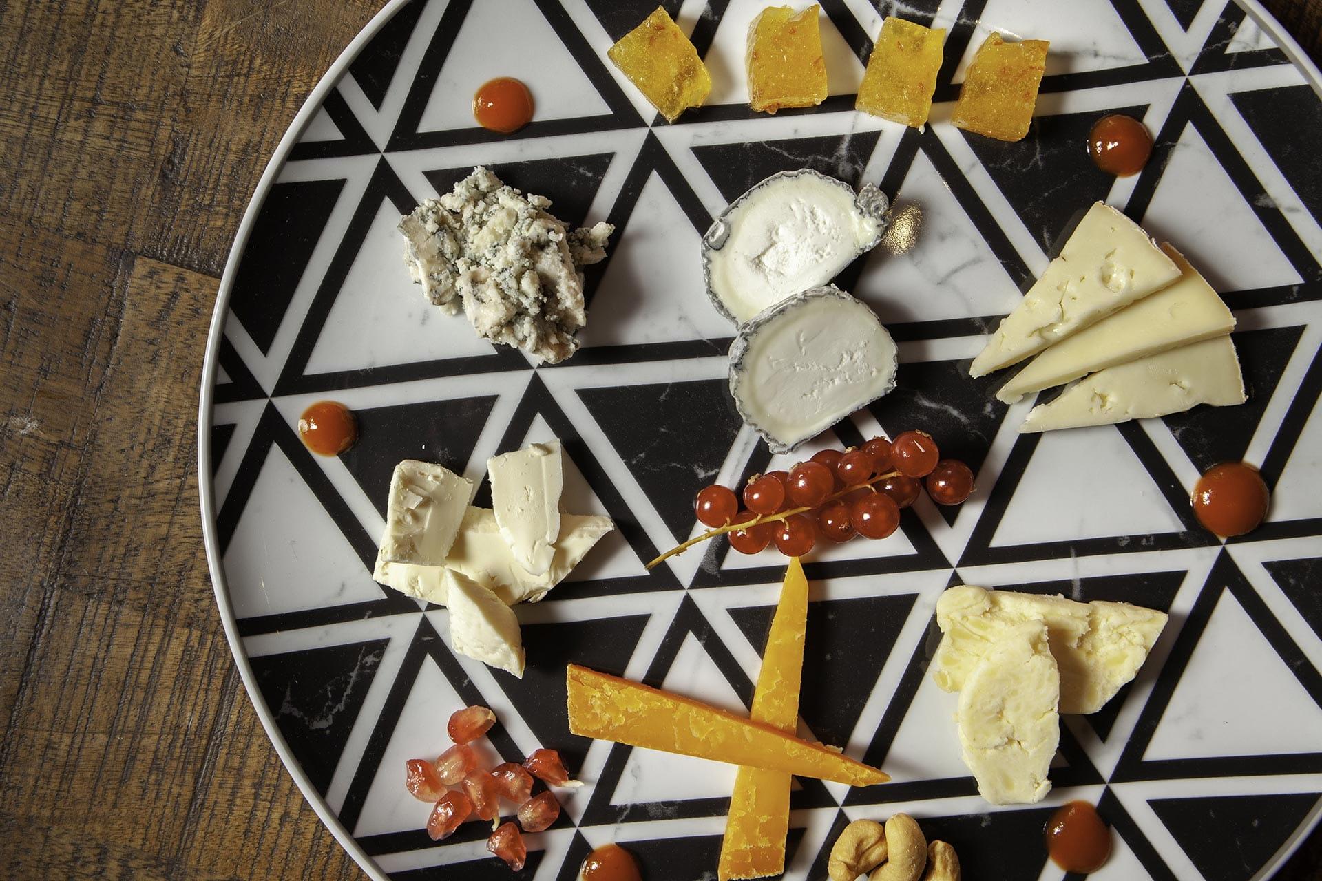 Selección de 5 quesos Aitor Vega